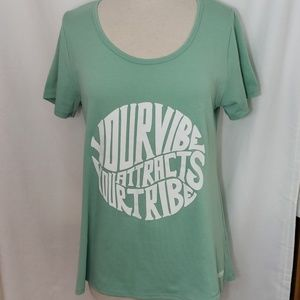 Lularoe Mint Green short sleeve shirt